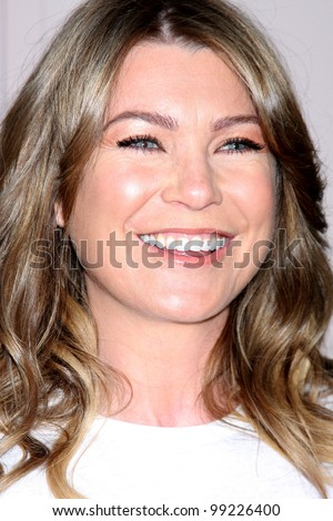 "LOS ANGELES - APR 2:  Ellen Pompeo arriving at the ""Welcome To ShondaLand: An Evening With Shonda Rhimes & Friends"" at Leonard H. Goldenson Theatre on April 2, 2012 in North Hollywood, CA"