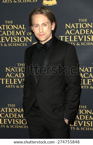 LOS ANGELES - APR 24: Eric Nelsen at The 42nd Daytime Creative Arts Emmy Awards Gala at the Universal Hilton Hotel on April 24, 2015 in Los Angeles, California - stock photo