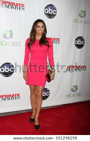 "LOS ANGELES - APR 29:  Eva Longoria arrives at the ""Desperate Housewives"" Wrap Party at W Hollywood Hotel on April 29, 2012 in Los Angeles, CA"