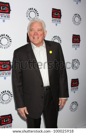 "LOS ANGELES - APR 12:  GW Bailey arrives at Warner Brothers ""Television: Out of the Box"" Exhibit Launch at Paley Center for Media on April 12, 2012 in Beverly Hills, CA - stock photo"