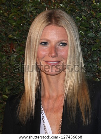 "LOS ANGELES - APR 13:  GWYNETH PALTROW arriving to ""My Valentine"" World Premiere  on April 13, 2012 in Beverly Hills, CA - stock photo"