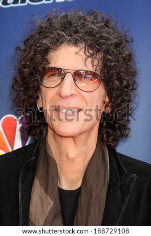 """LOS ANGELES - APR 22:  Howard Stern at the """"America's Got Talent"""" Los Angeles Auditions Arrivals at Dolby Theater on April 22, 2014 in Los Angeles, CA - stock photo"""
