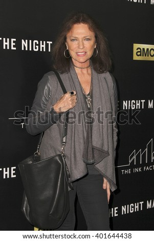 LOS ANGELES - APR 5:  Jacqueline BIsset at the The Night Manager AMC Premiere Screening at the Directors Guild of America on April 5, 2016 in Los Angeles, CA