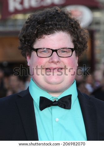 "LOS ANGELES - APR 13:  Jesse Heiman arrives to the ""Neighbors"" World Premiere  on April 28, 2014 in Westwood, CA.                 - stock photo"