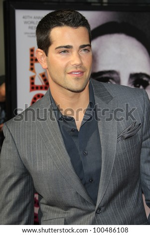"LOS ANGELES - APR 12:  Jesse Metcalfe arrives at the TCM 40th Anniv of ""Cabaret"" at Graumans Chinese Theater on April 12, 2012 in Los Angeles, CA"