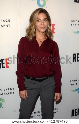 LOS ANGELES - APR 21:  Jillian Michaels at the Annenberg Space for Photography presents REFUGEE at the Annenberg Space for Photography on April 21, 2016 in Century City, CA - stock photo