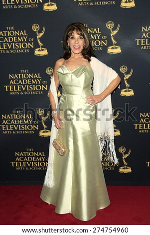 LOS ANGELES - APR 24: Kate Linder at The 42nd Daytime Creative Arts Emmy Awards Gala at the Universal Hilton Hotel on April 24, 2015 in Los Angeles, California - stock photo