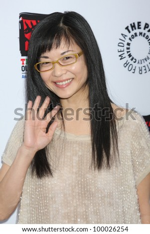 "LOS ANGELES - APR 12:  Keiko Agena arrives at Warner Brothers ""Television: Out of the Box"" Exhibit Launch at Paley Center for Media on April 12, 2012 in Beverly Hills, CA - stock photo"