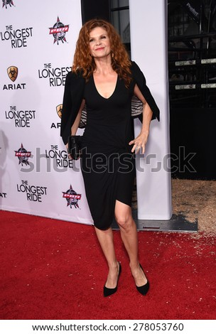 "LOS ANGELES - APR 06:  Lolita Davidovich arrives to the ""The Longest Ride"" Los Angeles Premiere  on April 06, 2015 in Hollywood, CA                 - stock photo"