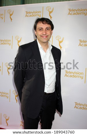 "LOS ANGELES - APR 9:  Michael Palleschi at the An Evening with ""America's Funniest Home Videos"" at Academy of Television Arts and Sciences on April 9, 2014 in North Hollywood, CA - stock photo"