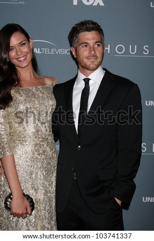 LOS ANGELES - APR 20:  Odette Annable, Dave Annable arrives at the House Series Finale Wrap Party at Cicada on April 20, 2012 in Los Angeles, CA