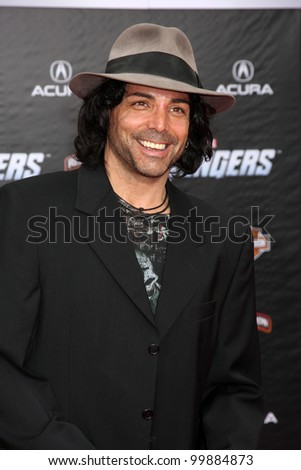"LOS ANGELES - APR 11:  Richard Greico arrives at ""The Avengers"" Premiere at El Capitan Theater on April 11, 2012 in Los Angeles, CA"