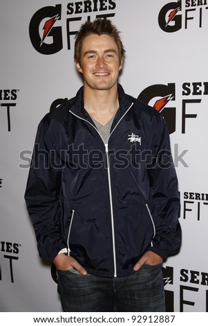 LOS ANGELES - APR 12:  Robert Buckley at the 'Gatorade G Series Fit Launch Event' at the SLS Hotel in Los Angeles, California on April 12, 2011.