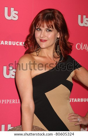 LOS ANGELES - APR 26: Sara Rue arriving at the 2011 US Weekly Hot Hollywood Style Event at Eden in Los Angeles, California on April 26, 2011