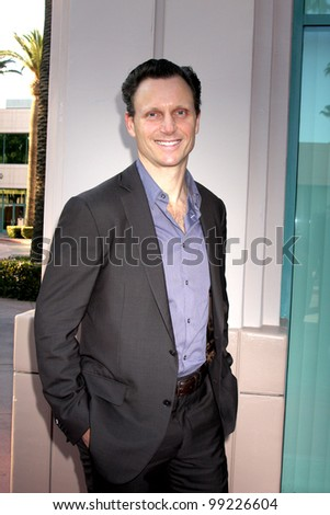 "LOS ANGELES - APR 2:  Tony Goldwyn arriving at the ""Welcome To ShondaLand: An Evening With Shonda Rhimes & Friends"" at Leonard H. Goldenson Theatre on April 2, 2012 in North Hollywood, CA"