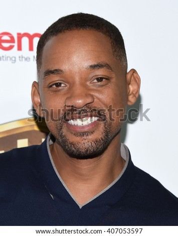 "LOS ANGELES - APR 12:  Will Smith arrives to the CinemaCon 2016: Warner Bros. ""The Big Picture"" Presentation  on April 12, 2016 in Las Vegas, NV."