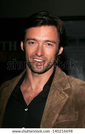 "LOS ANGELES - APRIL 27: Hugh Jackman at the Opening night of ""Salome"" at Wadsworth Theatre on April 27, 2006 in Los Angeles, CA. - stock photo"