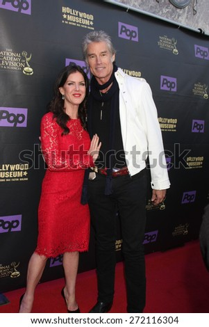LOS ANGELES - April 21:  Kira Reed Lorsch, Ronn Moss at the  2015 Daytime EMMY Awards Kick-off Party at the Hollywood Museum on April 21, 2015 in Hollywood, CA