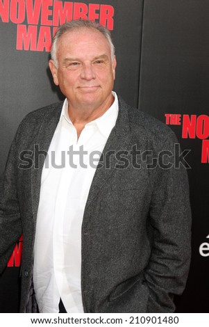 "LOS ANGELES - AUG 13:  Bill Smitrovich at ""The November Man"" Premiere at TCL Chinese Theater on August 13, 2014 in Los Angeles, CA - stock photo"