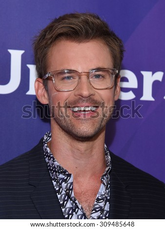 LOS ANGELES - AUG 12:  Brad Goreski arrives to the arrives to the Summer 2015 TCA's - NBCUniversal  on August 12, 2015 in Beverly Hills, CA                 - stock photo