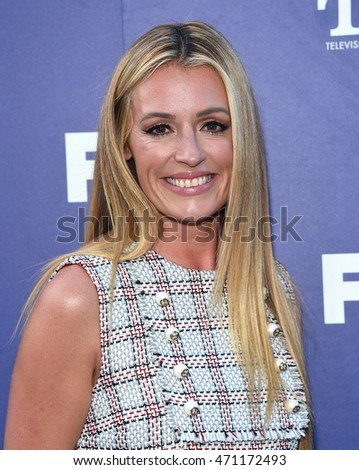 LOS ANGELES - AUG 08:  Cat Deeley arrives to the FOX Summer TCA Party 2016 on August 08, 2016 in West Hollywood, CA