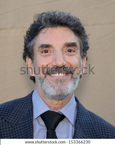 LOS ANGELES - AUG 04:  Chuck Lorre arrives to CBS Showtime CW All Star Winter TCA Party 2013  on July 29, 2013 in Beverly Hills, CA                 - stock photo