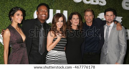 "LOS ANGELES - AUG 10:  ""Code Black"" Cast members at the CBS, CW, Showtime Summer 2016 TCA Party at the Pacific Design Center on August 10, 2016 in West Hollywood, CA"