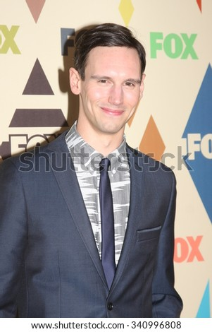 LOS ANGELES - AUG 6:  Cory Michael Smith at the FOX TCA Summer 2015 All-Star Party at the Soho House on August 6, 2015 in West Hollywood, CA - stock photo