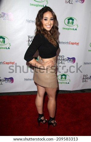 LOS ANGELES - AUG 6:  Danielle Robay at the Imagine Ball LA at the House of Blues on August 6, 2014 in West Hollywood, CA