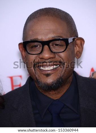 "LOS ANGELES - AUG 12:  Forest Whitaker arrives to ""The Butler"" Los Angeles Premiere  on August 12, 2013 in Los Angeles, CA"