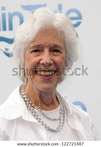 "LOS ANGELES - AUG 16:  FRANCES STERNHAGEN arriving to ""Dolphin Tale"" World Premiere  on August 16, 2012 in Westwood, CA"