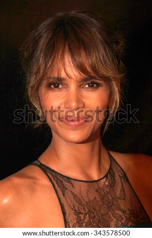 LOS ANGELES - AUG 13:  Halle Berry at the HFPA Hosts Annual Grants Banquet - Arrivals at the Beverly Wilshire Hotel on August 13, 2015 in Beverly Hills, CA - stock photo
