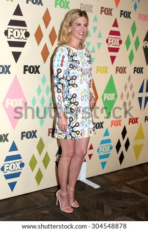 LOS ANGELES - AUG 6:  January Jones at the FOX Summer TCA All-Star Party 2015 at the Soho House on August 6, 2015 in West Hollywood, CA - stock photo