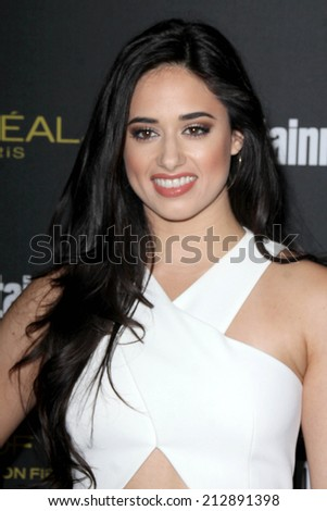 LOS ANGELES - AUG 23:  Jeanine Mason at the 2014 Entertainment Weekly Pre-Emmy Party at Fig & Olive on August 23, 2014 in West Hollywood, CA