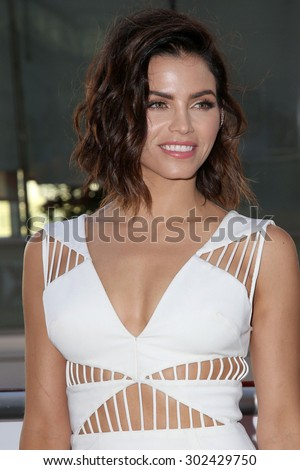 LOS ANGELES - AUG 1:  Jenna Dewan-Tatum at the The Dizzy Feet Foundation`s Celebration Of Dance Gala at the Club Nokia on August 1, 2015 in Los Angeles, CA - stock photo