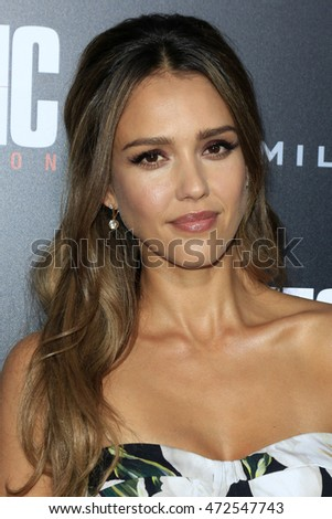 "LOS ANGELES - AUG 22:  Jessica Alba at the ""Mechanic: Resurrection"" Premiere at the ArcLight Hollywood on August 22, 2016 in Los Angeles, CA"