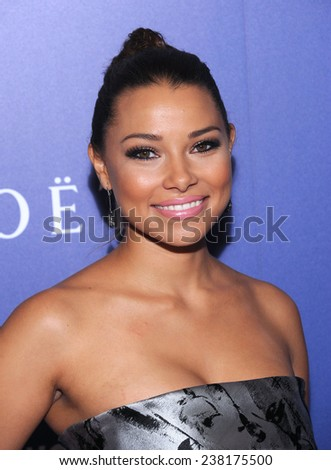 LOS ANGELES - AUG 14:  Jessica Parker Kennedy arrives to the HFPA Annual Installation Dinner 2014 on August 14, 2014 in Beverly Hills, CA