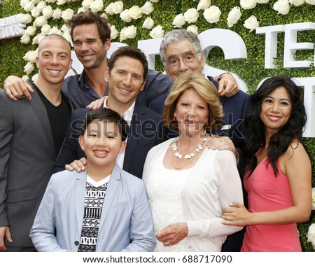 LOS ANGELES - AUG 1:  9JKL Cast at the CBS TV Studios Summer Soiree TCA Party 2017 at the CBS Studio Center on August 1, 2017 in Studio City, CA
