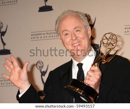 LOS ANGELES - AUG 21:  John Lithgow in the Press Room of the 2010 Creative Primetime Emmy Awards at Nokia Theater at LA Live on August 21, 2010 in Los Angeles, CA