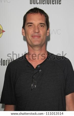 LOS ANGELES - AUG 23: John Nau at the premiere of RADiUS-TWC's 'Bachelorette' at ArcLight Cinemas on August 23, 2012 in Los Angeles, California - stock photo