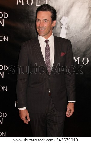 LOS ANGELES - AUG 13:  Jon Hamm at the HFPA Hosts Annual Grants Banquet - Arrivals at the Beverly Wilshire Hotel on August 13, 2015 in Beverly Hills, CA - stock photo