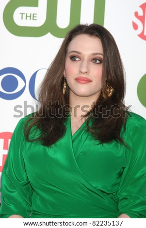 LOS ANGELES - AUG 3:  Kat Dennings arriving at the CBS TCA Summer 2011 All Star Party at Robinson May Parking Garage on August 3, 2011 in Beverly Hills, CA