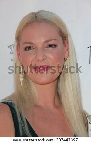 "LOS ANGELES - AUG 15:  Katherine Heigl at the ""Saved In America"" Red Carpet Screening at the Regency Agoura Hills Stadium 8 on August 15, 2015 in Agoura Hills, CA"