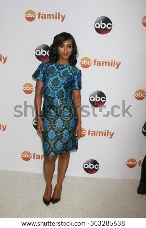 LOS ANGELES - AUG 4:  Kerry Washington at the ABC TCA Summer Press Tour 2015 Party at the Beverly Hilton Hotel on August 4, 2015 in Beverly Hills, CA - stock photo