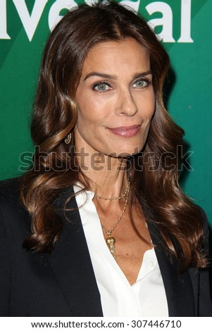 LOS ANGELES - AUG 13:  Kristian Alfonso at the NBCUniversal 2015 TCA Summer Press Tour at the Beverly Hilton Hotel on August 13, 2015 in Beverly Hills, CA - stock photo