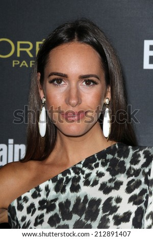 LOS ANGELES - AUG 23:  Louise Roe at the 2014 Entertainment Weekly Pre-Emmy Party at Fig & Olive on August 23, 2014 in West Hollywood, CA