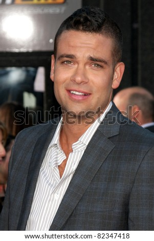 "LOS ANGELES - AUG 6:  Mark Salling arrives at the ""Glee The 3D Concert Movie""."" at Regency Village Theater on August 6, 2011 in Westwood, CA"