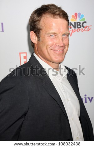 LOS ANGELES - AUG 1:  Mark Valley arriving at the NBC TCA Summer 2011 Party at SLS Hotel on August 1, 2011 in Los Angeles, CA - stock photo