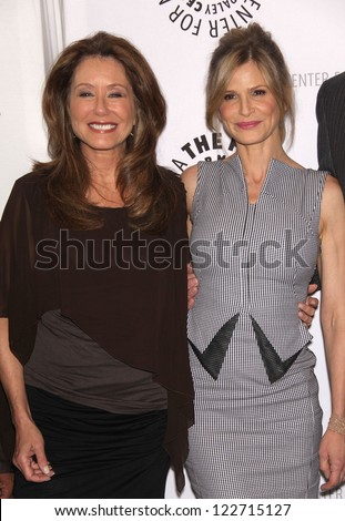 "LOS ANGELES - AUG 10:  MARY McDONNELL & KYRA SEDGWICK arriving to An Evening with ""The Closer""  on August 10, 2011 in Beverly Hills, CA"