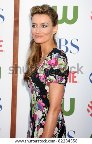 LOS ANGELES - AUG 3:  Natascha McElhone arriving at the CBS TCA Summer 2011 All Star Party at Robinson May Parking Garage on August 3, 2011 in Beverly Hills, CA